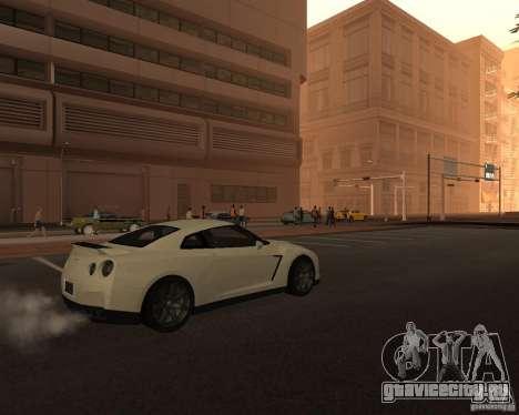 Nissan GT-R Pronto для GTA San Andreas вид сзади слева