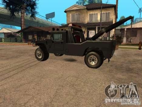 HUMMER H1 тягач для GTA San Andreas вид слева