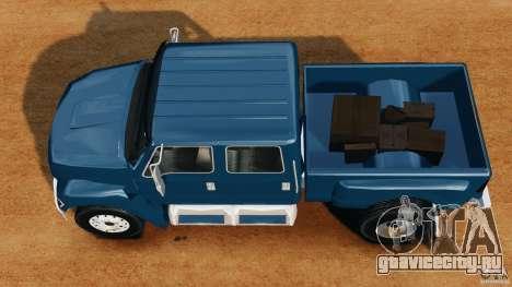 Ford F-650 XLT Superduty для GTA 4 вид справа