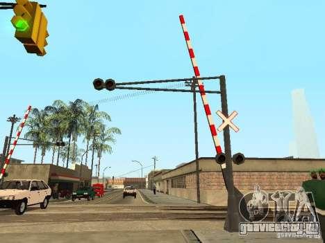 ЖД Переезд RUS для GTA San Andreas второй скриншот