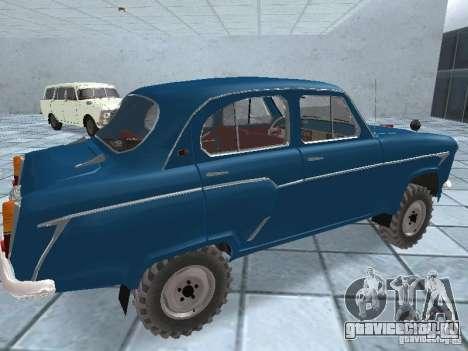 Москвич 410 4x4 для GTA San Andreas вид справа