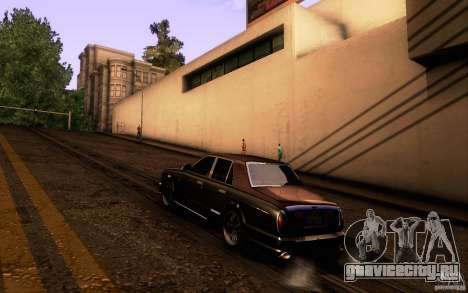 Bentley Arnage R 2005 для GTA San Andreas вид справа