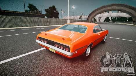 Mercury Cyclone Spoiler 1970 для GTA 4 вид сзади слева
