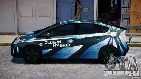 Toyota Prius 2011 PHEV Concept для GTA 4 вид слева