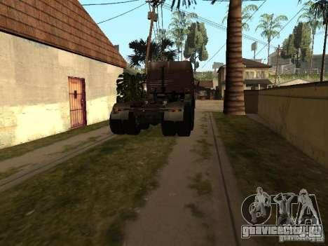 Камаз 5410 для GTA San Andreas вид слева