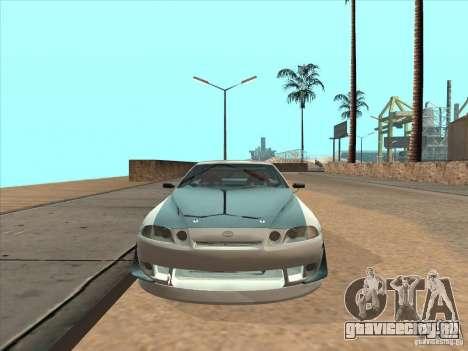 Toyota Soarer (JZZ30) для GTA San Andreas вид сзади