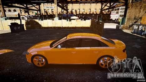 Audi S4 2010 для GTA 4 вид изнутри