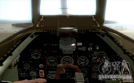 Spitfire для GTA San Andreas