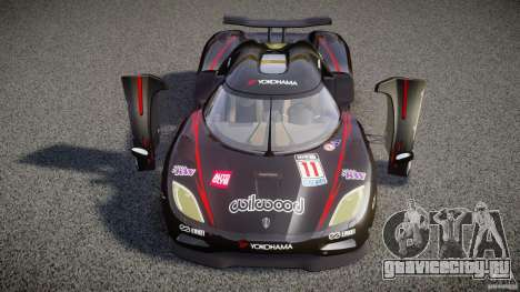 Koenigsegg Agera v1.0 [EPM] для GTA 4 колёса