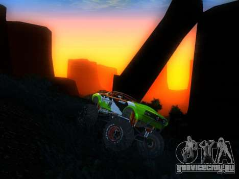 Fire Ball для GTA San Andreas вид справа