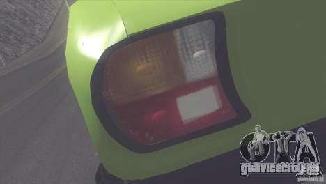 Peugeot 504 для GTA San Andreas вид сзади
