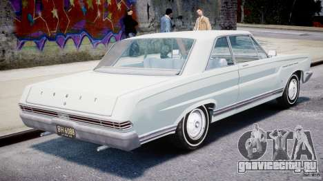 Ford Mercury Comet 1965 [Final] для GTA 4 вид справа