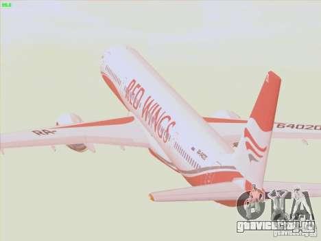 Tupolev Tu-204 Red Wings Airlines для GTA San Andreas вид сбоку