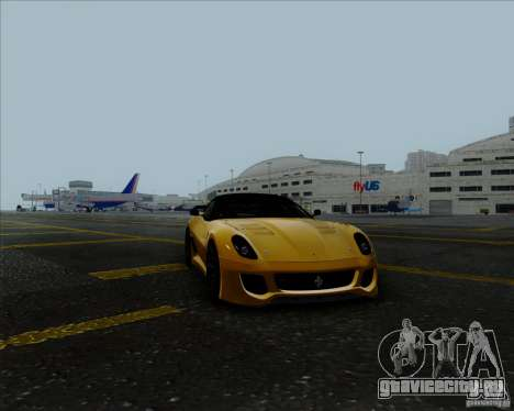 Ferrari Challenge-2009 599XX для GTA San Andreas вид справа