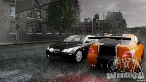 BMW M5 e60 Emre AKIN Edition для GTA 4 вид изнутри