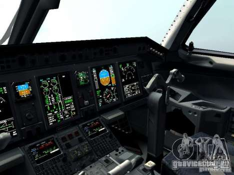 Embraer E-190 для GTA San Andreas вид сверху