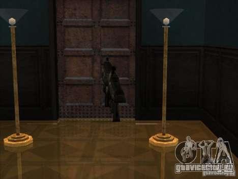 M4 из игры Gears of War для GTA San Andreas второй скриншот
