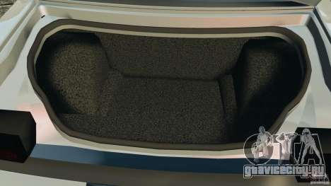 Dodge Challenger SRT8 392 2012 для GTA 4 вид снизу