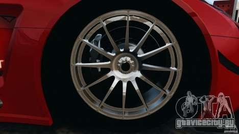 Mercedes-Benz SLS AMG GT3 2011 v1.0 для GTA 4 вид сверху