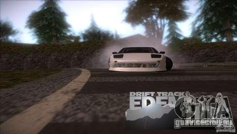 Edem Hill Drift Track для GTA San Andreas четвёртый скриншот