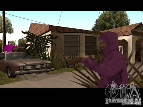 Капюшон для GTA San Andreas восьмой скриншот