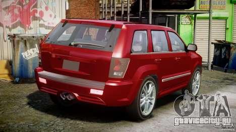 Dodge Durango [Beta] для GTA 4 вид изнутри