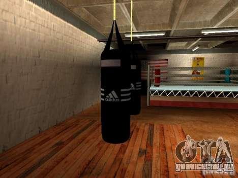 Новая боксерская груша для GTA San Andreas