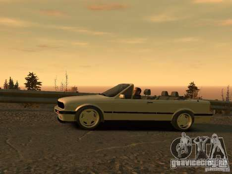 BMW 3-er E30 для GTA 4 вид сзади слева