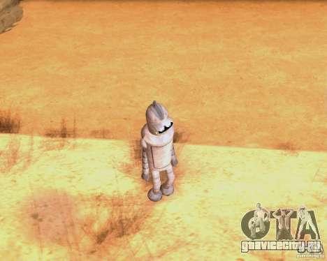 Futurama для GTA San Andreas третий скриншот