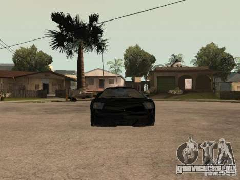 GTA4 Infernus для GTA San Andreas вид справа