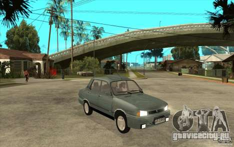 Dacia 1310 L Custom-RK для GTA San Andreas вид сзади