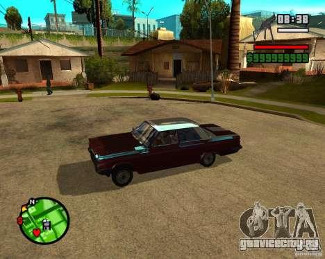 Mercury Mascarpone для GTA San Andreas вид слева