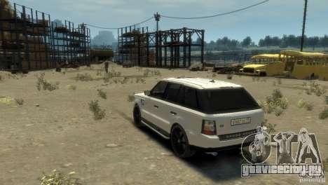 Land Rover Range Rover Sport для GTA 4 вид слева