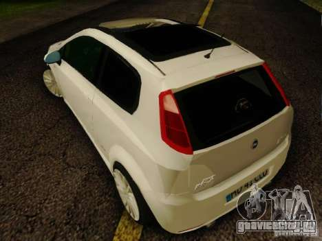 Fiat Grande Punto CLD Style для GTA San Andreas вид слева
