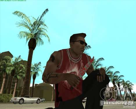 Blood Weapons Pack для GTA San Andreas