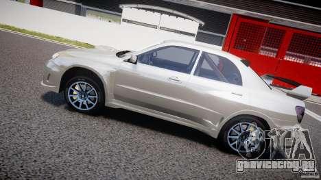 Subaru Impreza STI Wide Body для GTA 4 двигатель