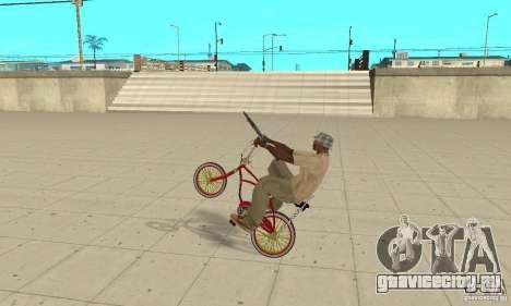 CUSTOM BIKES BMX для GTA San Andreas вид справа