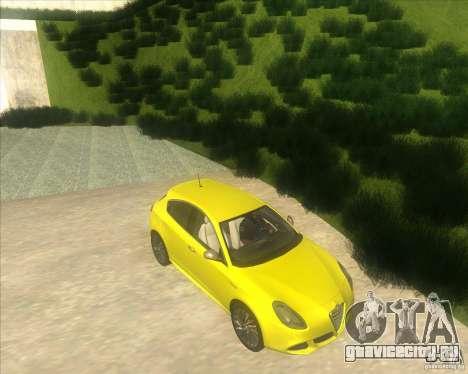 Alfa Romeo Giulietta QV 2011 для GTA San Andreas вид справа