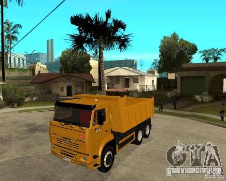 КамАЗ 6520 TAI для GTA San Andreas
