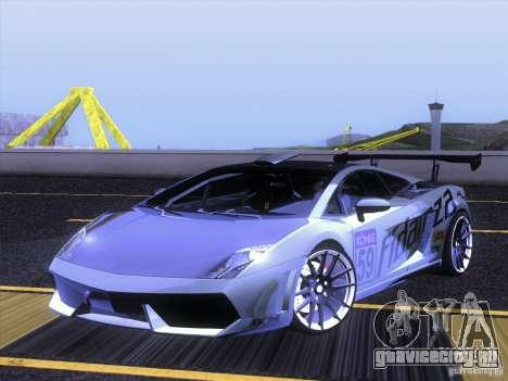 Lamborghini Gallardo Racing Street для GTA San Andreas вид сбоку