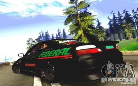 Nissan Silvia S15 Drift Works для GTA San Andreas вид справа