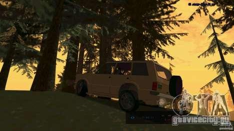 HD Huntley для GTA San Andreas вид слева