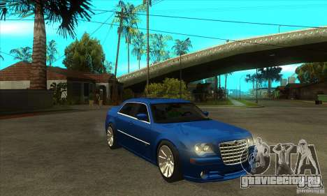 Chrysler 300C SRT 8 2008 для GTA San Andreas вид сзади