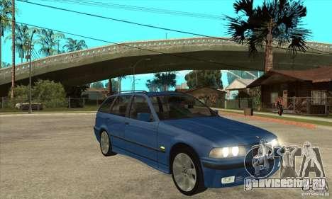 BMW 318i Touring для GTA San Andreas вид сверху