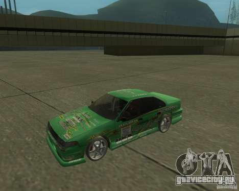 Nissan Cefiro A31 (D1GP) для GTA San Andreas вид сзади слева