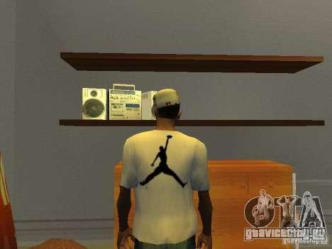Nike Air Jordan - T-Shirt для GTA San Andreas
