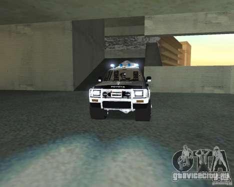 Toyota Surf v2.1 для GTA San Andreas вид изнутри