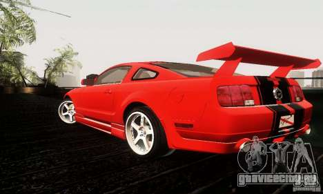 Ford Mustang GT Tunable для GTA San Andreas вид справа