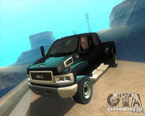 GMC Topkick C4500 2008 для GTA San Andreas
