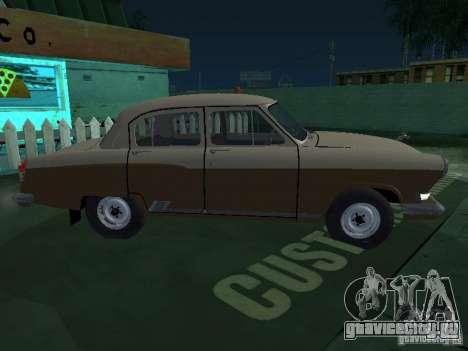 ГАЗ М21Т Такси для GTA San Andreas вид сзади